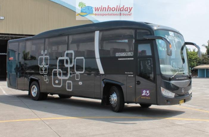 beberapa pilihan armada sewa bus pariwisata di Jogja