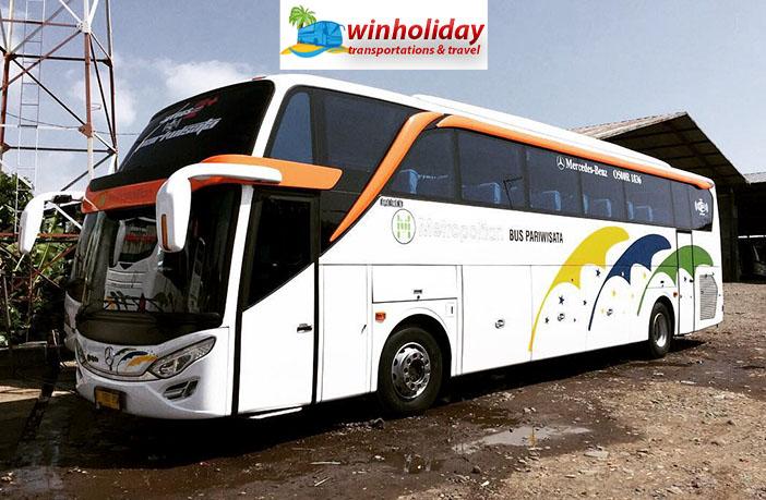 daftar harga sewa bus pariwisata di Bekasi