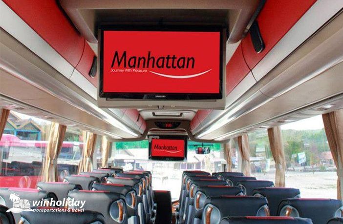 Interior bus HDD terbaru 48 seats manhattan