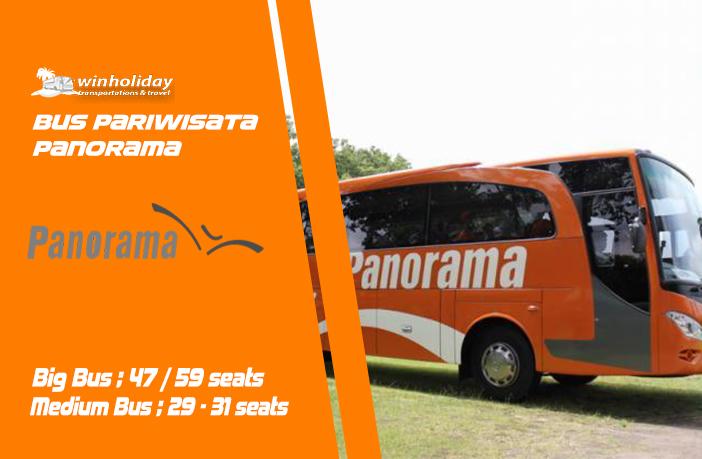 Informasi sewa bus pariwisata panorama