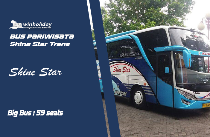 sewa bus shine star tanggerang