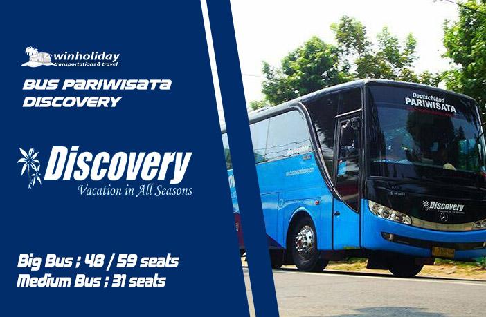 Info Lengkap Sewa Bus Pariwisata Discovery Terbaru 2021