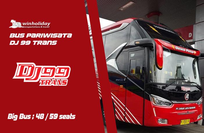 Daftar Harga Sewa Bus Pariwisata DJ 99 TRANS Jakarta