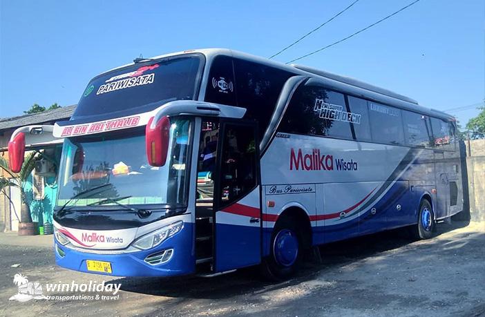 Bus pariwisata malika wisata 59s