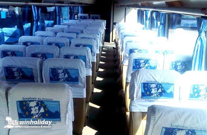Interior Bus pariwisata symphonie 59 seats a - winholidaiy