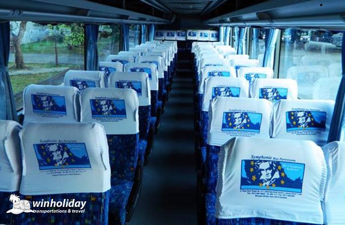 Interior Bus pariwisata symphonie 59 seats b - winholidaiy