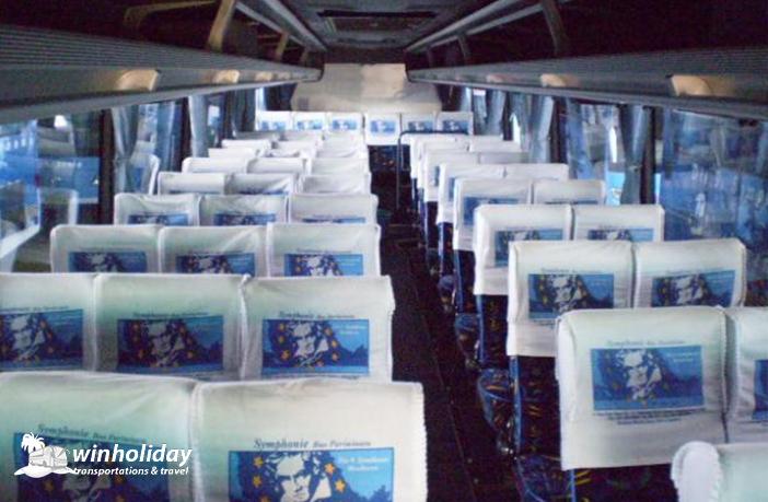 Interior Bus pariwisata symphonie 59 seats c - winholidaiy
