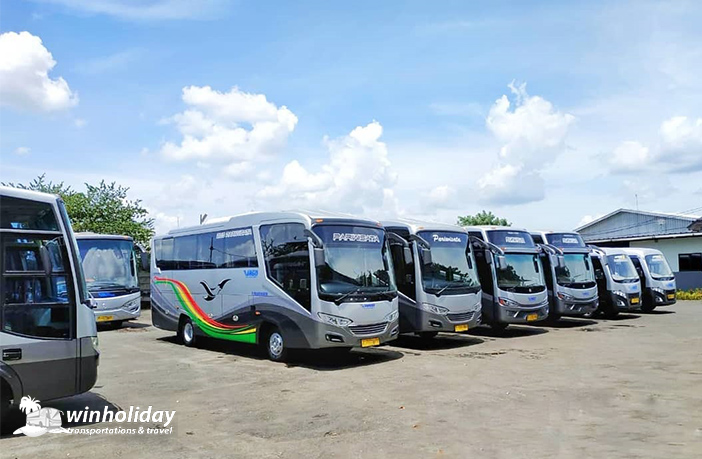 Medium bus pariwisata virgo trans 31 seats