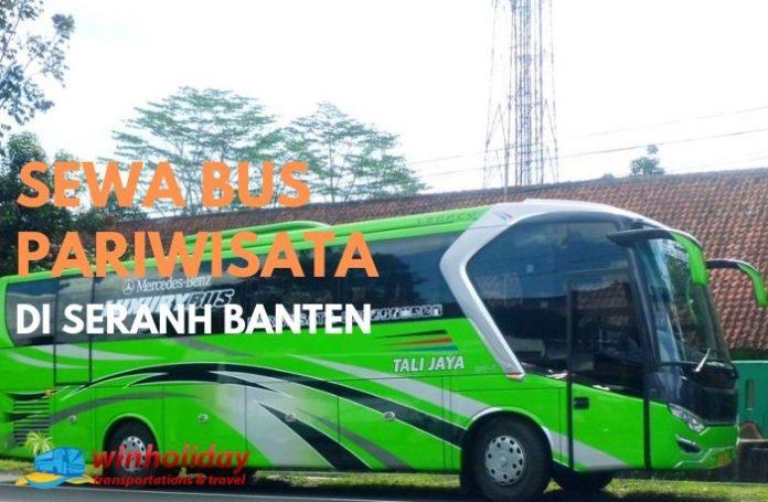 bus pariwisata di serang