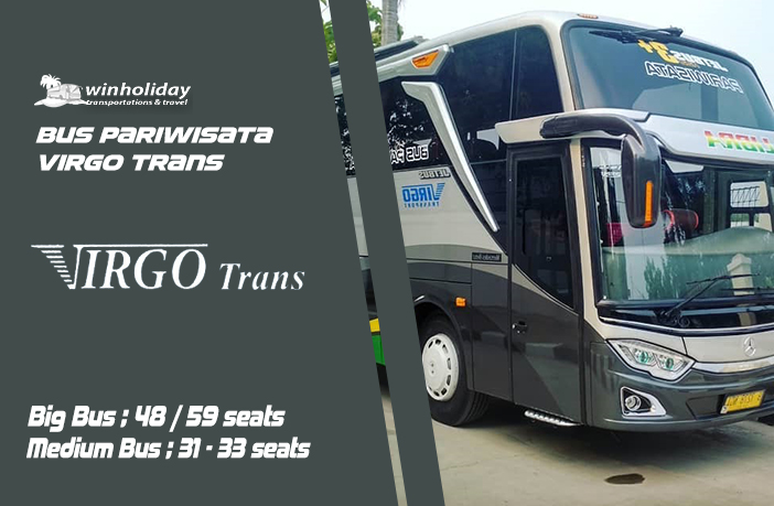 Daftar Harga Sewa Bus Pariwisata Virgo Trans Terlengkap 2021