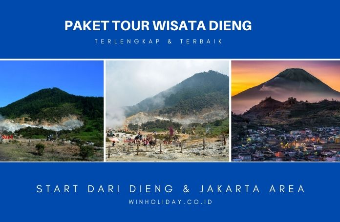 Paket tour wisata dieng
